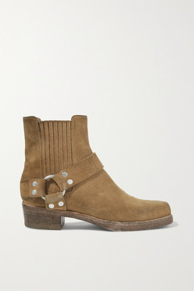 RE/DONE Calvary Suede Ankle Boots - Tan
