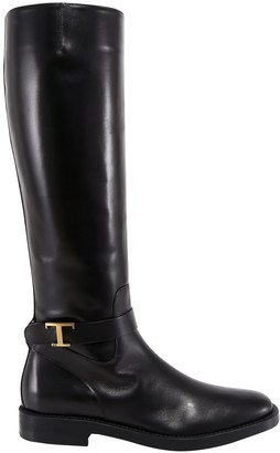 Tod's T-Buckle Boots
