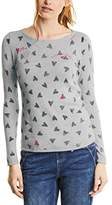 Street One Women's Pullover Heart Dessin Jumper