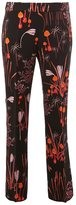 Giambattista Valli floral print straight trousers - women - Cotton/Polyamide/Acetate/Viscose - 40