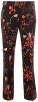 Giambattista Valli floral print straight trousers - women - Cotton/Polyamide/Acetate/Viscose - 42