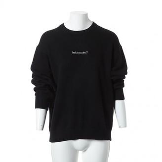 Supreme Black Cotton Knitwear