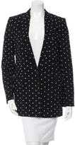 Givenchy Cross Print Blazer