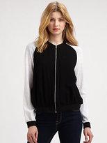 Style Stalker Stylestalker Embroidered Bomber Jacket