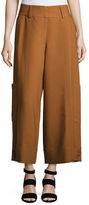 See by Chloe High-Waist Wide-Leg Cargo Trousers