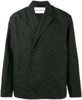 Our Legacy double breasted blazer - men - Cotton/Linen/Flax - 48