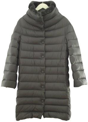Armani Collezioni Grey Synthetic Coats