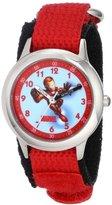 Iron Man Marvel Comics Kids' W000124 Stainless Steel Time Teacher Watch