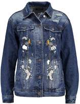 Pieces PCMONDA Denim jacket medium blue denim