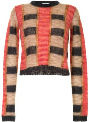 J.W.Anderson Oversized Check Jumper