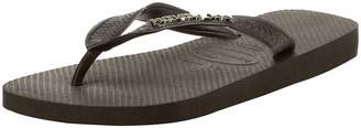 Havaianas Women's Top Logo Metallic Flip Flop Sandal