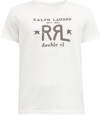 Ralph Lauren RRL Logo-print Cotton-jersey T-shirt - White