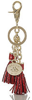 Brahmin Melbourne Leather Tassel Key Ring