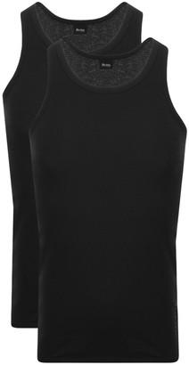 Boss Business BOSS Double Pack Vest T Shirts Black