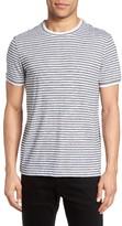 Theory Men's Rylee Multi Stripe T-Shirt