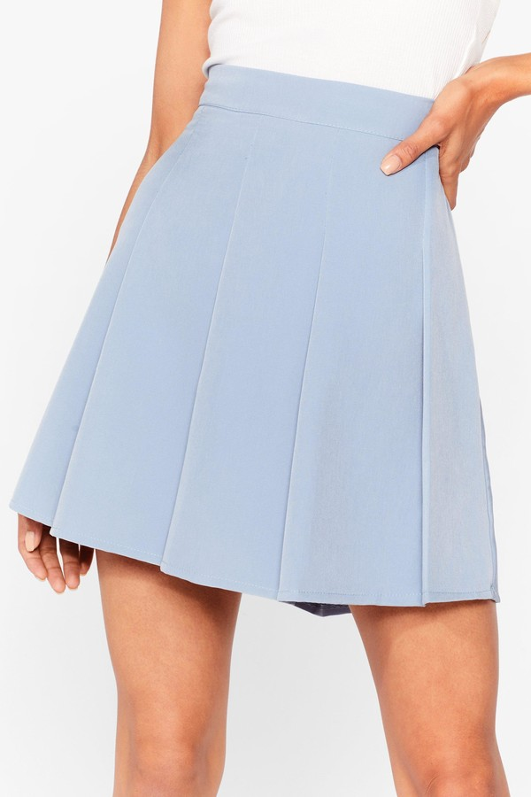 Thumbnail for your product : Nasty Gal Womens Pleated Loose Mini Skirt - Black - 6