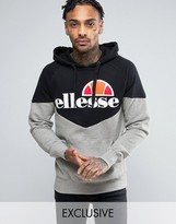 Ellesse Chevron Hoodie With Large Logo