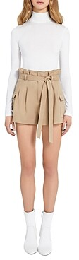 Alice + Olivia Laurine Paper Bag Cargo Shorts (64% off) Comparable value $250