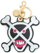 Moschino skull keychain - women - Leather/metal - One Size