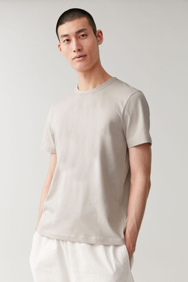 Cos Brushed Cotton T-Shirt
