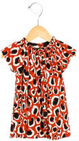 Gucci Girls' Printed Crew Neck Dress w/ Tags