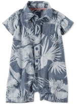 Carter's Tropical-Print Cotton Chambray Romper, Baby Boys (0-24 Months)