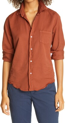Frank And Eileen Barry Color Denim Button-Up Shirt