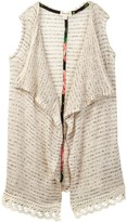 Ten Sixty Sherman Lace Fringe Sweater Vest (Big Girls)