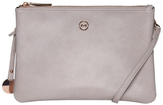 Mocha Jessie Crossbody Bag - Blush