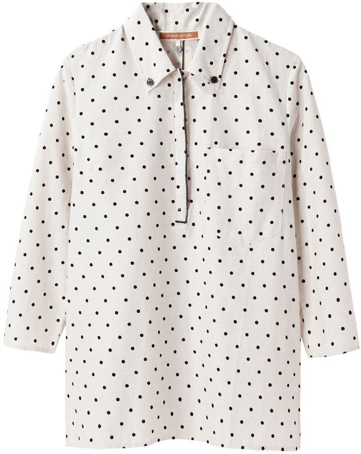 United Bamboo Polka Dot Shirt