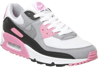 Nike 90 Trainers White Grey Rose