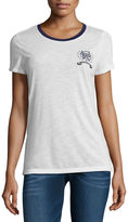 U.S. Polo Assn. Short Sleeve Crew Neck T-Shirt-Womens