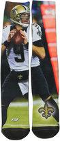 For Bare Feet Drew Brees New Orleans Saints Player Mesh Crew Socks