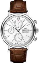 Iwc Portofino Chronograph Alligator Leather Watch