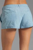 BB Dakota Anna Cotton Chambray Shorts