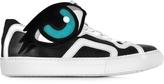 Pierre Hardy Oh Roy Black Leather Sneaker