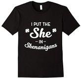 I Put The SHE in Shenanigans Irish Pride Tee Shirt for Women