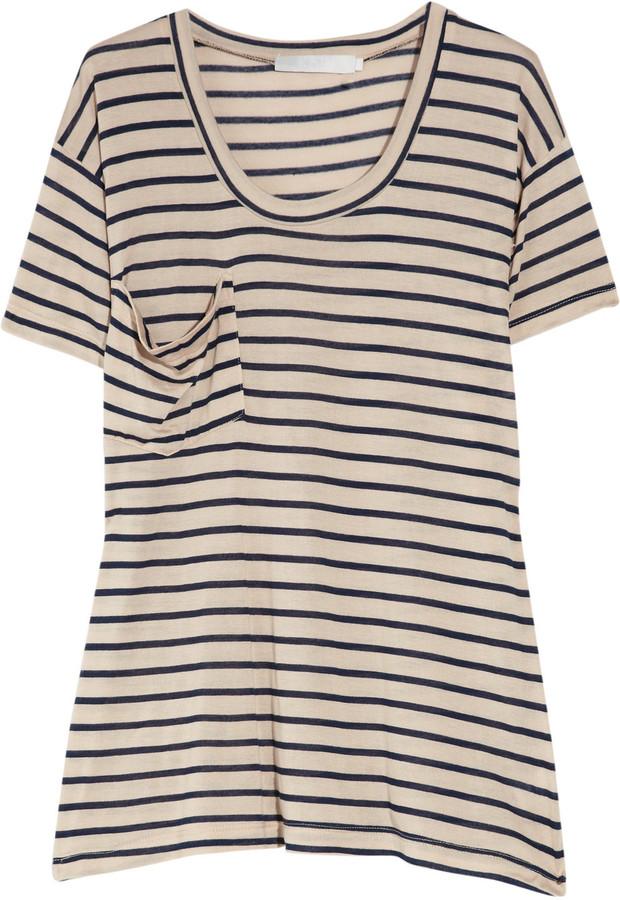 Kain Label Oversized striped modal T-shirt
