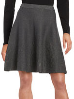 Context Textured A-Line Skirt