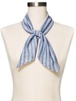 Mossimo Women's Dark Chambray Stripe Fashion Scarf