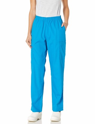 Dickies Women's Natural Rise Tapered Leg Pull-On Scrub Pant