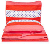 Dh Strawberry Pink Polka-Dot Quilt Set