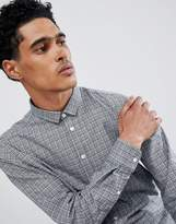 Casual Friday Shirt Windowpane Checked Shirt In Regular Fit