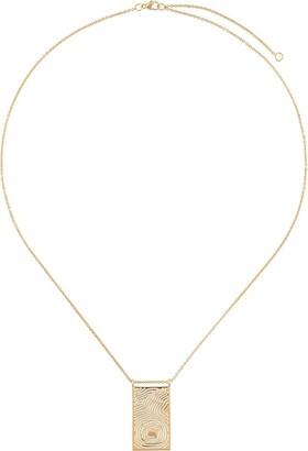 KAY KONECNA Woodscape pendant necklace