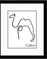 """Amanti Art Framed Art Print 'The Camel' by Pablo Picasso, Outer Size 12""""x14"""""""