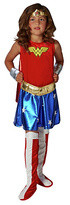 Rubie's Costume Co Wonder Woman Dress up Outfit - 5-6 Years