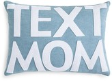 "Alexandra Ferguson Text Mom Decorative Pillow, 10"" x 14"""