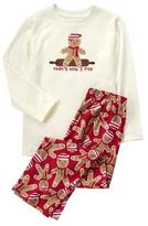 Gymboree Gingerbread Pajama Set