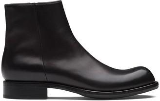 Prada Zip-Fastening Ankle Boots