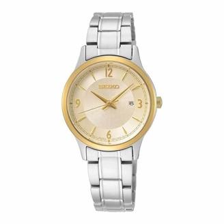 Seiko Women's Analog Quartz Watch with Stainless Steel Strap SXDH04P1